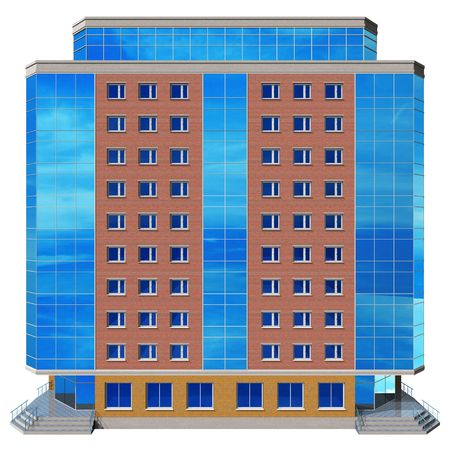 Modern skyscraper photo