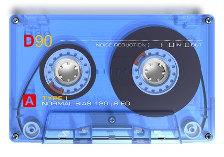 Audio cassette Stock Photo - 7844395