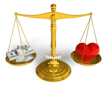 relationship love: Love cannot be bought