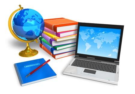 tanulás: Oktatási koncepció Stock fotó
