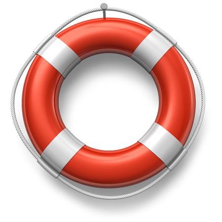 salvavidas: Salvavidas rojo