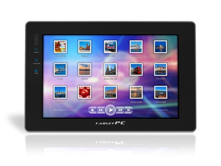 umpc: Tablet PC Stock Photo
