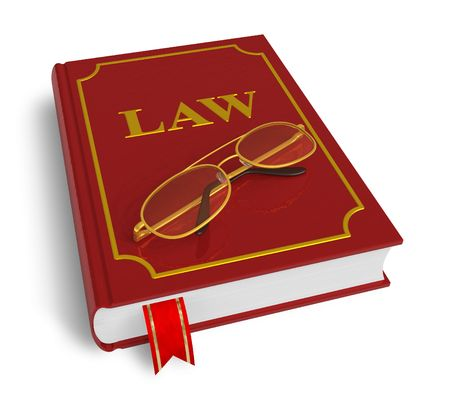 criminal act: Code of laws Stock Photo