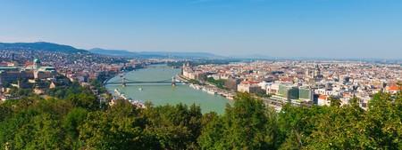 Panorama of Budapest, Hungary photo