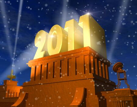 New Year 2011 celebration photo