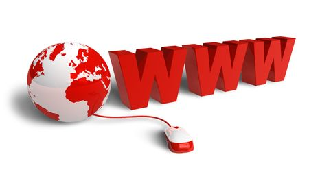 Internet concept Stock Photo - 8128160
