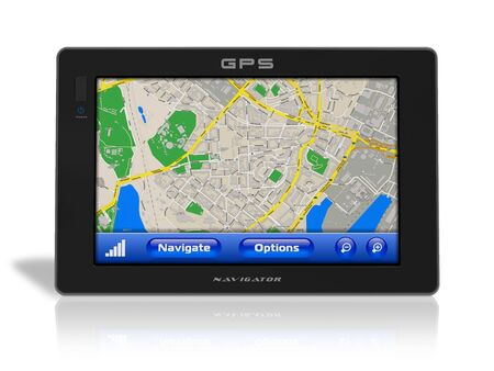 GPS navigator photo