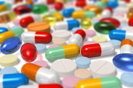 Drugs. Selective focus effect Stock Photo - 8171696