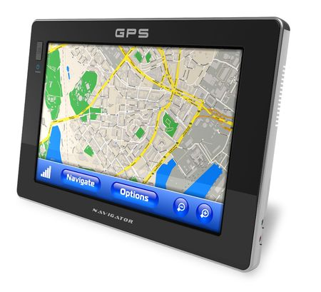 handheld computer: GPS navigator
