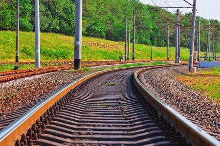 catenation: Railroad track