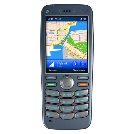 Mobile phone with GPS navigation  photo