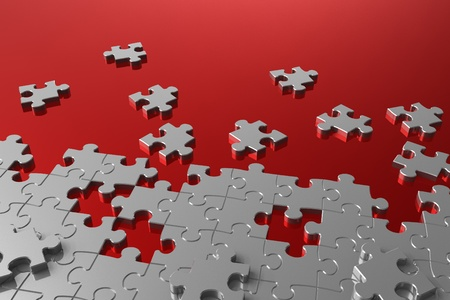 jigsaw pieces: Puzzle assembly