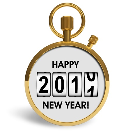 New Year 2011 congratulation Stock Photo - 8249247
