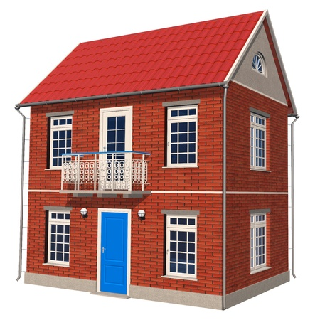 Double-floor cottage Stock Photo - 8406667