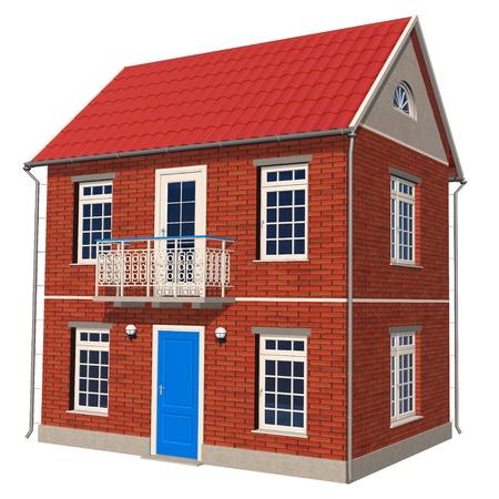 Double-floor cottage Stock Photo - 8406667