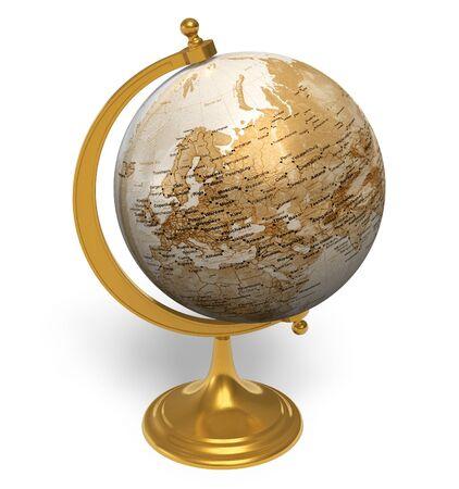 Vintage globe photo