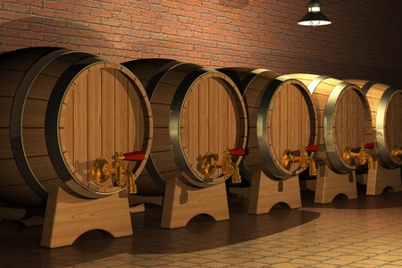 beer production: Winery Stock Photo