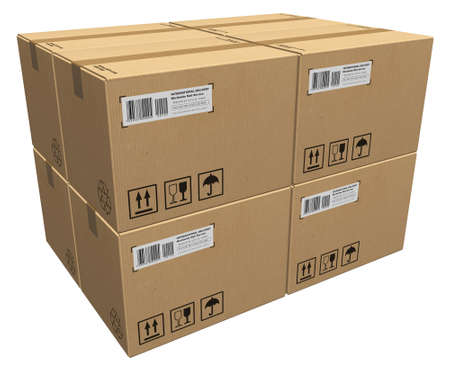 distribution box: Cardboard boxes