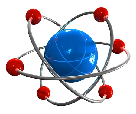 particles: Atom model