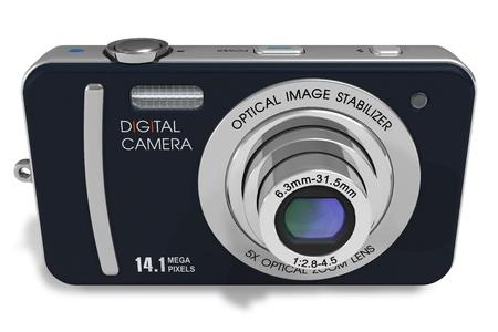 Compact digital camera  Stock Photo - 8542660