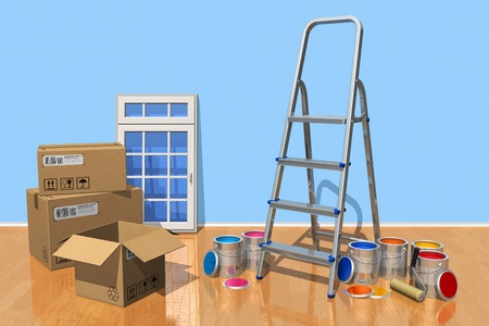 Home renovation concept photo