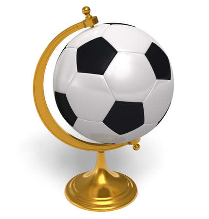 Football globe photo