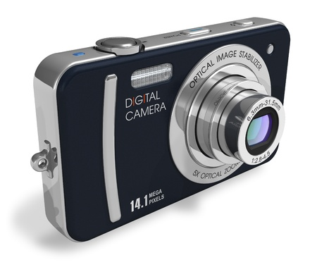 Compact digital camera *** Design of this device is my OWN photo