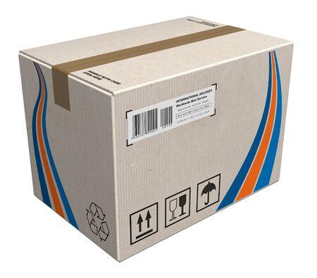 Cardboard box Stock Photo - 8733322