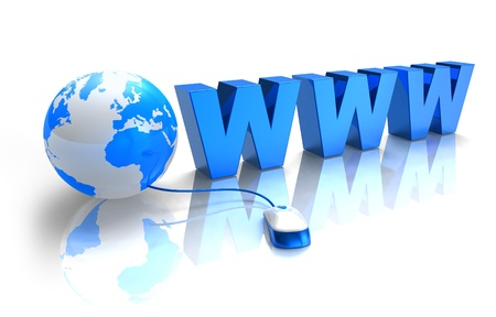 web address: Internet concept