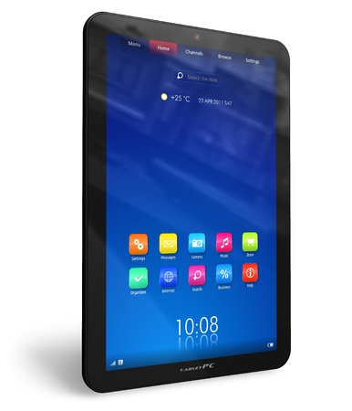 Vertical tablet PC photo