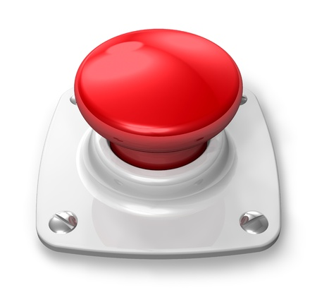Red alert button photo