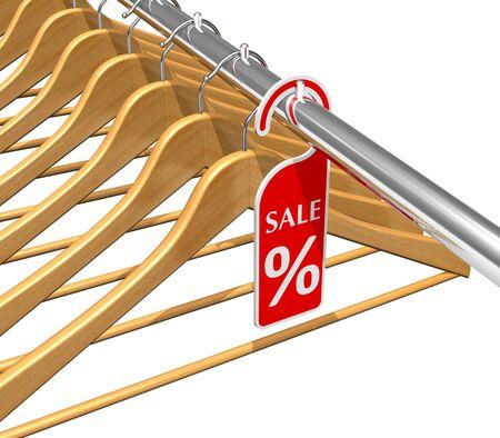 Wear sale discount concept Stock Photo - 8994874