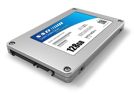 128GB solid state drive (SSD) *** Design of this device is my OWN Stock Photo - 8994867