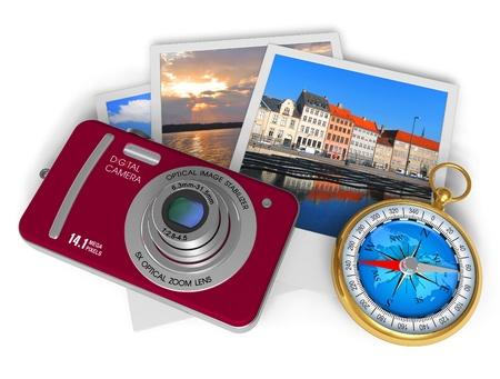 diaporama: Concept de voyage et de tourisme  Banque d'images