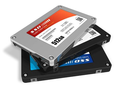 solid state drive: Set of solid state drives (SSD)