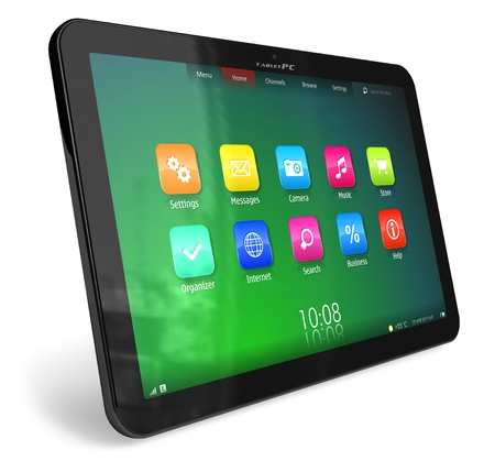 Tablet PC Stock Photo - 9034669