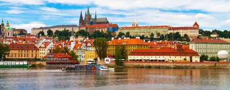 prague castle: Panorama of Prague, Czech Republic