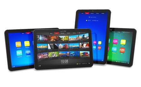 Ensemble de tablettes