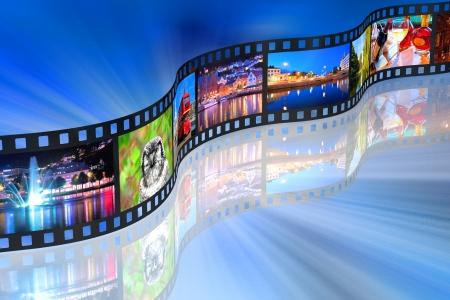 Streaming media concept Stock Photo - 9196448