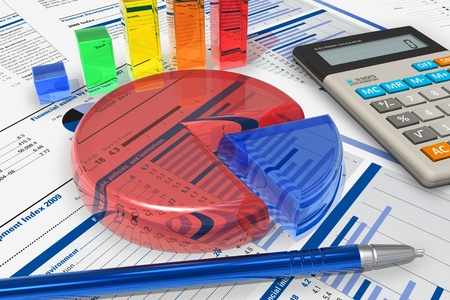 Business analytics concept photo
