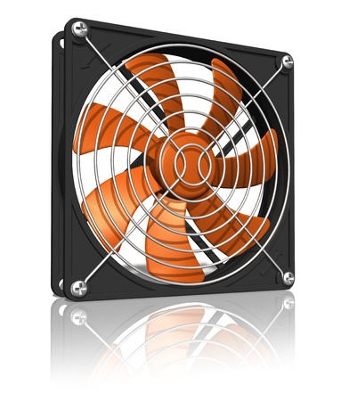 Computer chassis/CPU cooler Stock Photo - 9264431