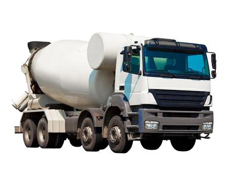 Concrete mixer Stock Photo - 9341113