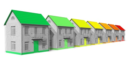 House energy efficiency concept photo