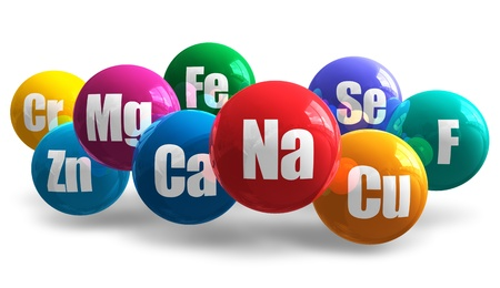 magnesium: Healthy life concept Stock Photo