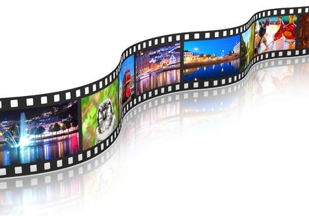 live entertainment: Concetto di streaming media Archivio Fotografico