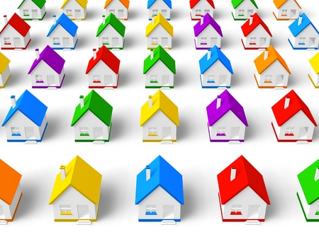 Real estate concept Stock Photo - 9465298