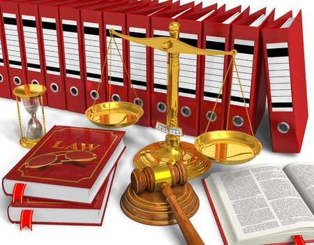 law: Legal or bidding concept