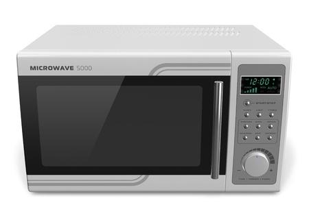 microwave oven: Horno de microondas, aisladas sobre fondo blanco
