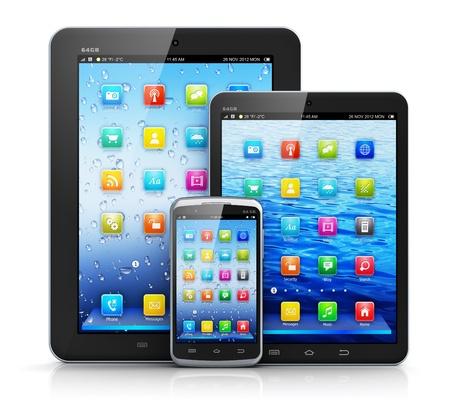 標準タブレット コンピューター、タブレット PC のミニバージョン、タッチ スクリーンのスマート フォン