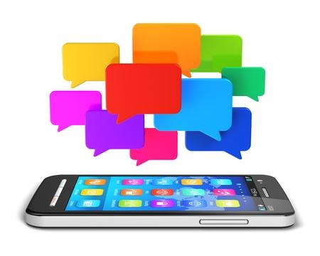 forums: communication technology concept  Stock Photo
